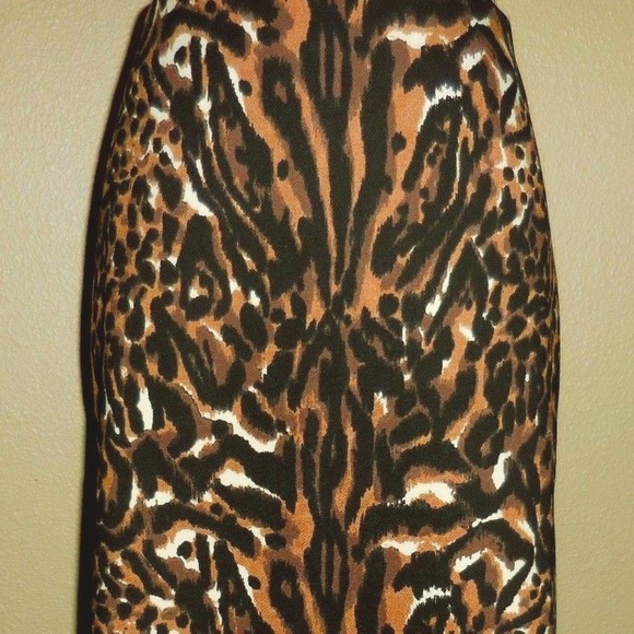 ebb125013c Talbots Skirts | Nwt Animal Print Pencil Skirt | Poshmark